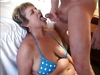 Cougars cum in mouth compilation cumshot mature milf video