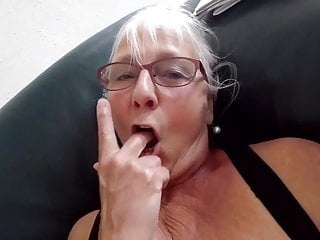 Sweet gray-haired pussy of 60 year old granny mature milf granny video