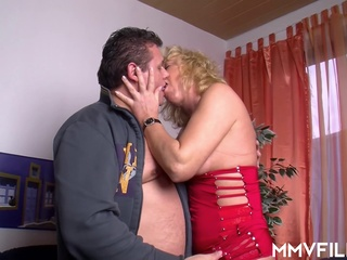 MMV - Surprise! blonde cumshot hd video