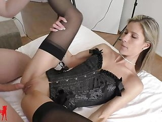 Melanie Schweiger: Cuckold! He jerks in the same room.. amateur blonde creampie video