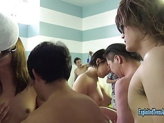 Jav Amateurs Get Gangbang At Swimming Pool Uncensored Action amateur asian cumshot video