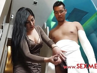 Latin mom helps son blowjob hd videos doggy style video