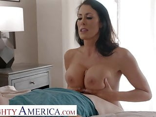 Naughty America - Reagan Foxx needs some young cock!! blowjob brunette hardcore video