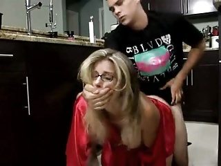 Stepmom & Stepson Affair 62 (Unexpected Breakfast) hairy creampie milf video