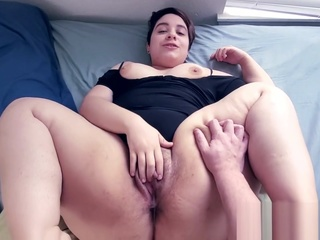 Oh my gosh..... your cock is so tiny! How do you even use that thing!? bbw creampie cumshot video