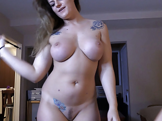 Neighbor's Girlfriend Queefs Out My Cum amateur creampie milf video