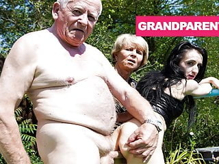 Rejuvenating Grandpa's Worn Out Cock with Granny blowjob fingering hardcore video