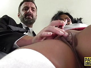 Mature sub gets throated and pounded hardcore mature big boobs video