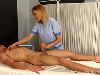 Massage blonde femdom fetish video
