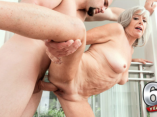 Silva Fucks Her Step-Son: Jmac - Silva Foxx And J Mac - 60PlusMilfs big ass big tits granny video