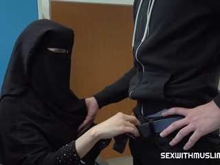SexWithMuslims - Muslim darling gets rod in her cunt wa arab hd milf video