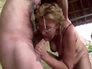Sonja - Outdoor Fun german gilf granny video