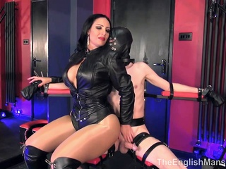 tied up, edged and ruined by mezsn bdsm big ass big tits video