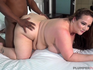 This black guy makes Jessica Lust cum bbw big ass big cock video