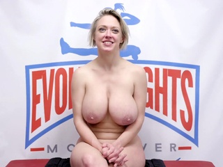 Mixed wrestling with facesitting and riding bdsm big tits blonde video