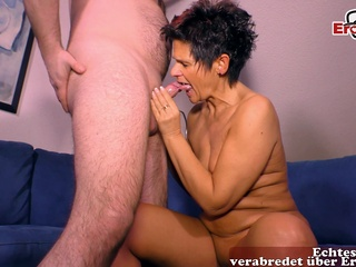 german skinny old mature milf with short hair fuck amateur brunette facial video