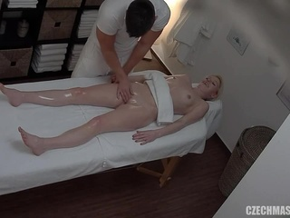 CzechMassage - Massage E169 blonde hd massage video